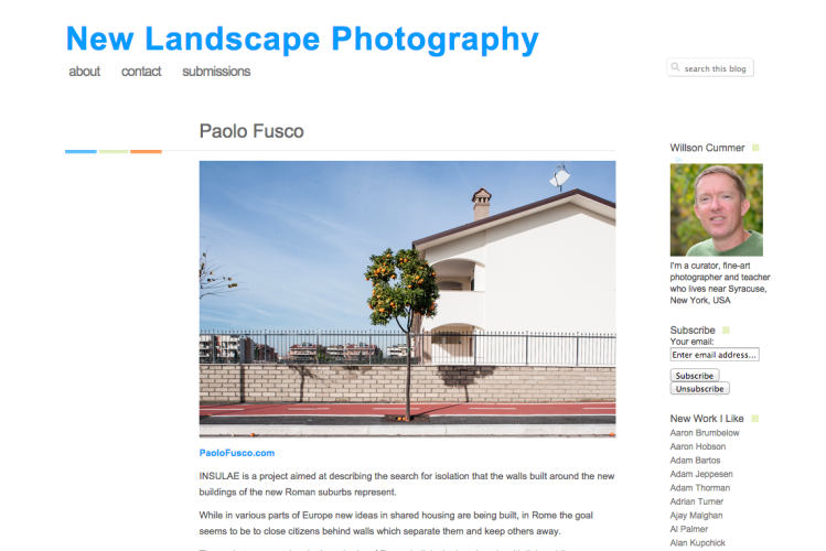 New Landscape Photography screenshot