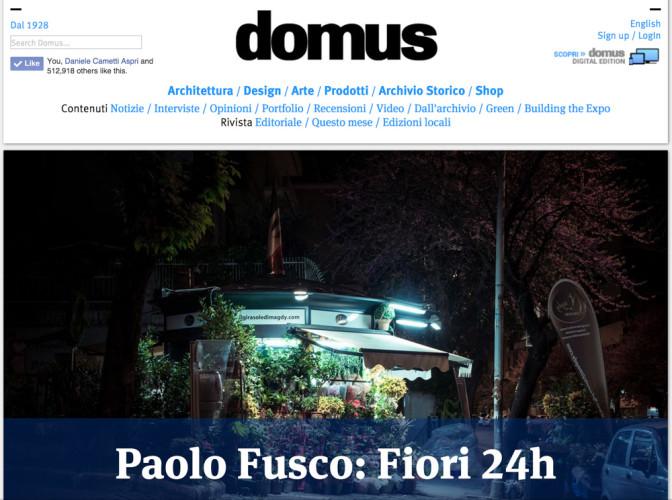 Paolo Fusco Domusweb